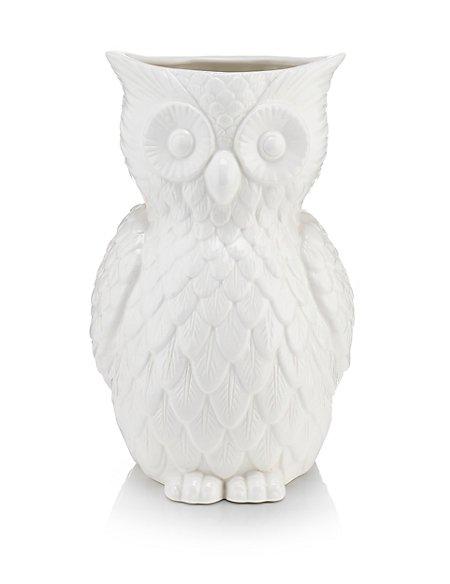 Owl Vase Ms