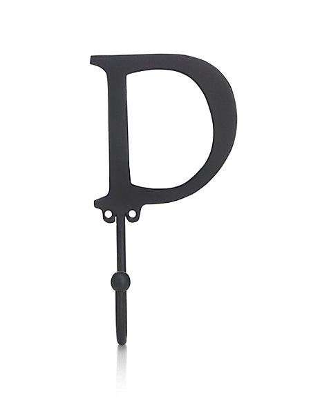 Alphabet D Door Hook