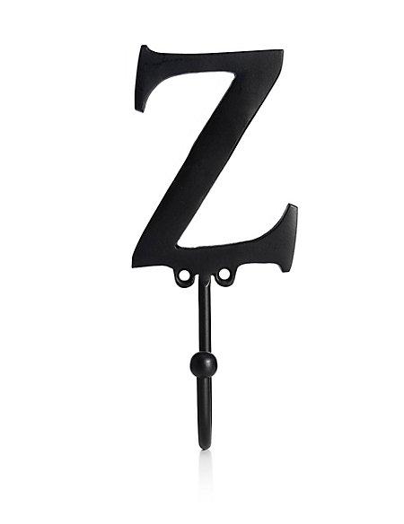 Alphabet Z Door Hook