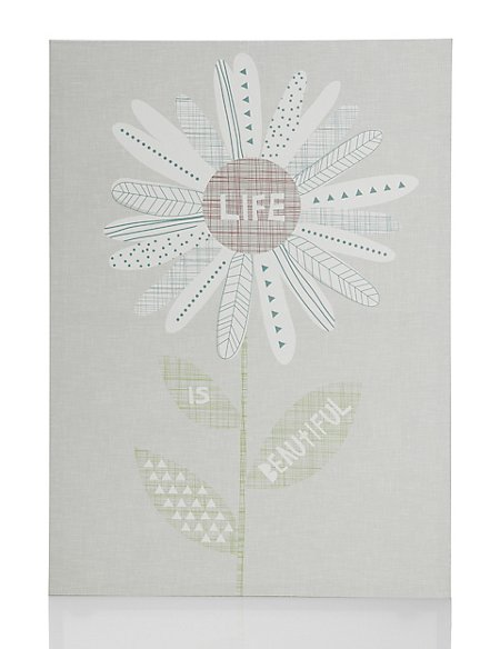Life is Beautiful Wall Art | M&S