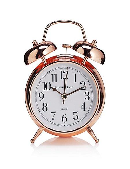 Mantel Twin Bell Alarm Clock