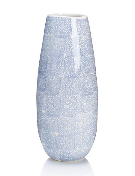 Circle & Square Design Vase