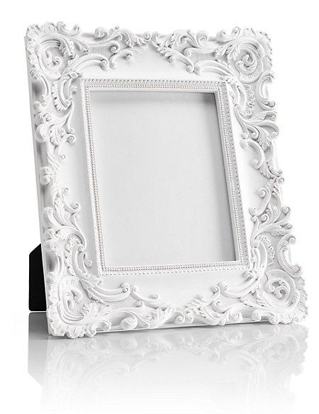 large rococco photo frame 20 x 25cm 8 x 10 39 39 m s. Black Bedroom Furniture Sets. Home Design Ideas