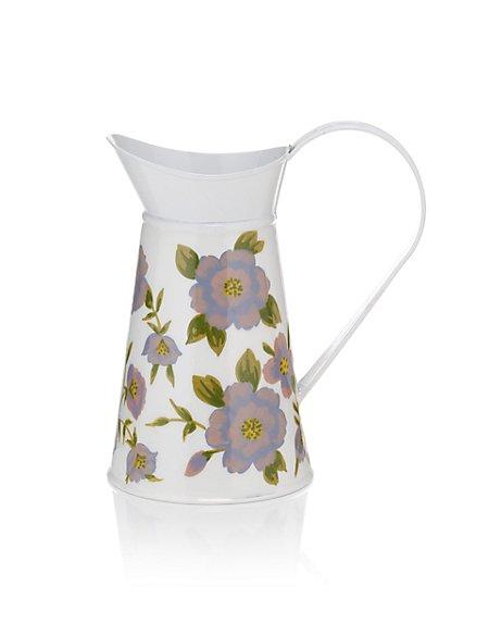 Small Floral Design Jug Vase
