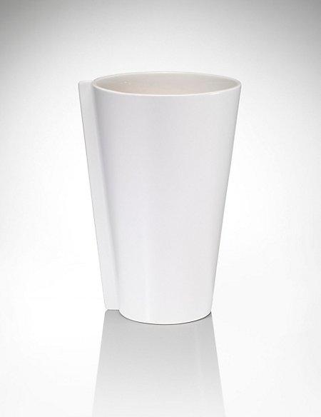 Conran Fold Ceramic Vase