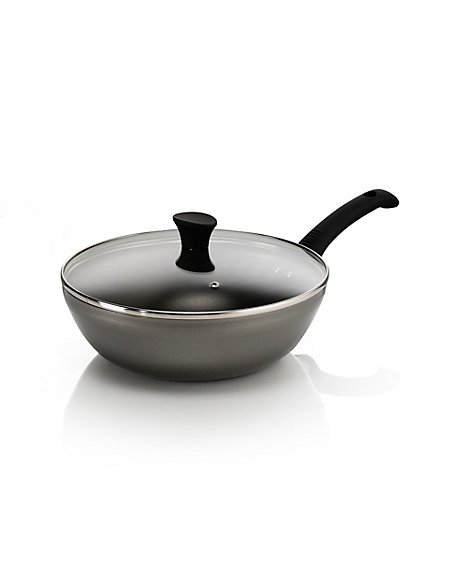 28cm Aluminium Non-Stick Stir Frying Pan