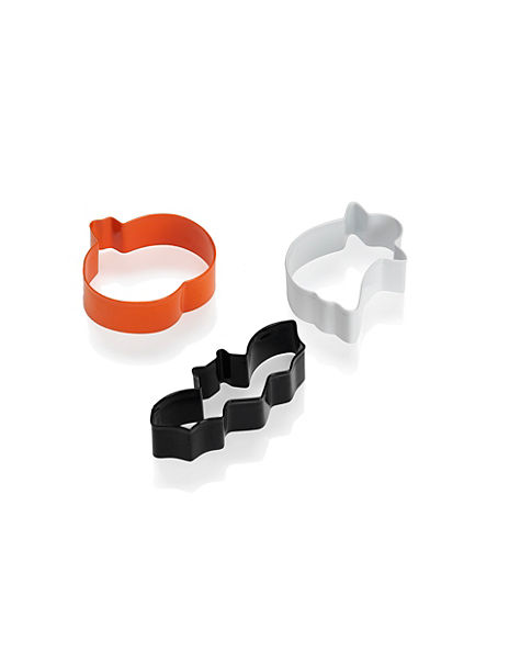 3 Halloween Cookie Cutters