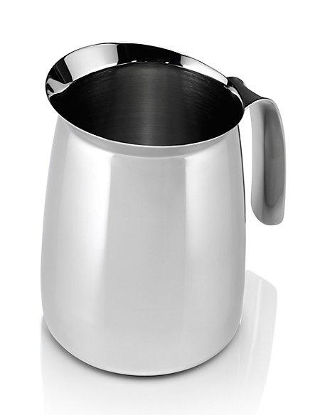 stainless steel milk jug m s. Black Bedroom Furniture Sets. Home Design Ideas