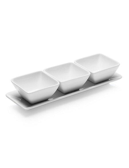 3 Maxim Dip Bowls