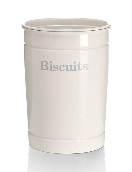 Retro Style Biscuit Storage