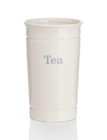 Retro Style Tea Storage