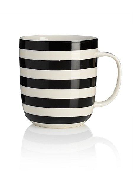 Whitstable Striped Mug