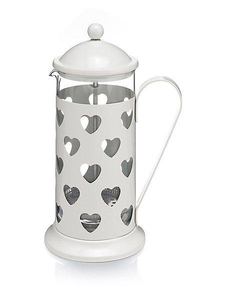 Heart 8 Cup Cafetière