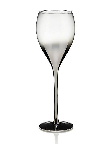 Metallic Wine Glass