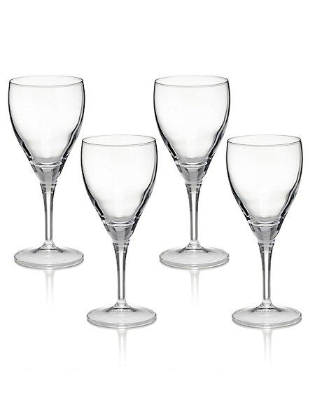4 Fiore Wine Glasses