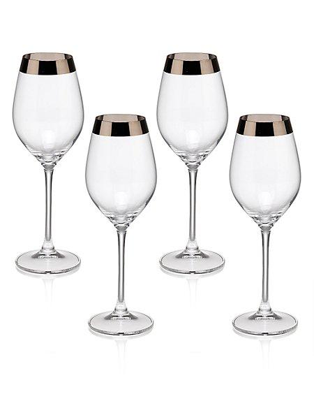 4 Hudson Wine Glasses