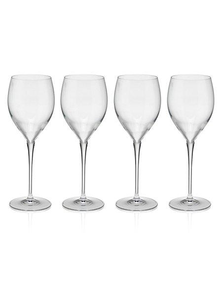 4 Magnificio Red Wine Glasses