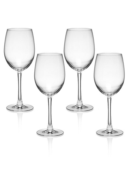 4 Andante Red Wine Glasses