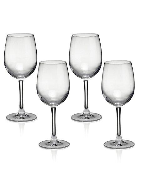 4 Andante White Wine Glasses