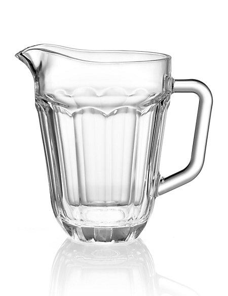 Soda Glass Jug