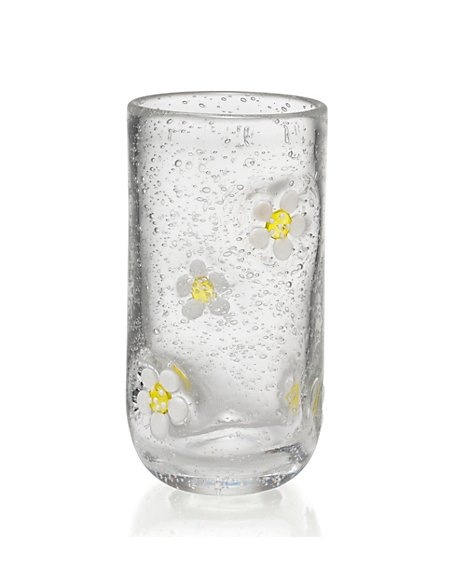 Flower Hi Ball Glass