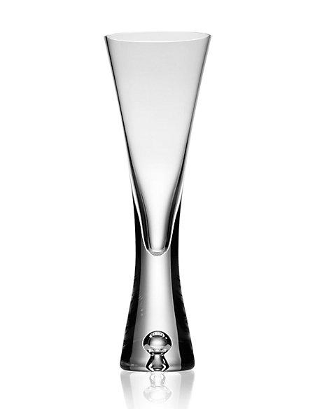 Bubble Base Champagne Glass