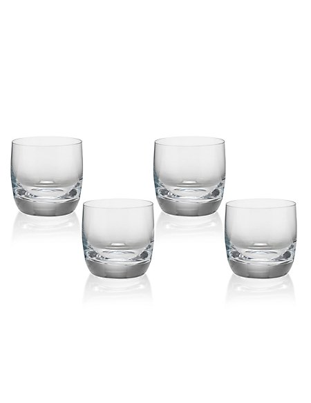 4 Sommelier Whiskey Tumblers
