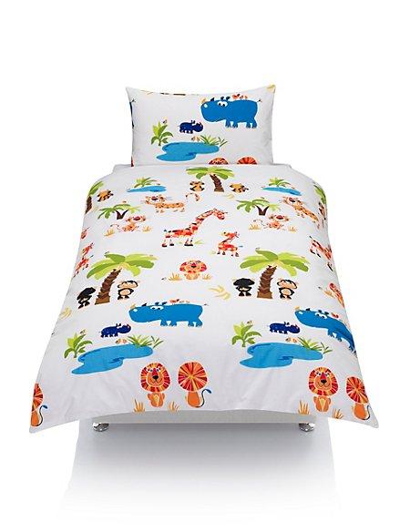 Jungle Print Bedding Set