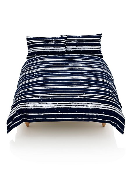 Painted Striped Bedset
