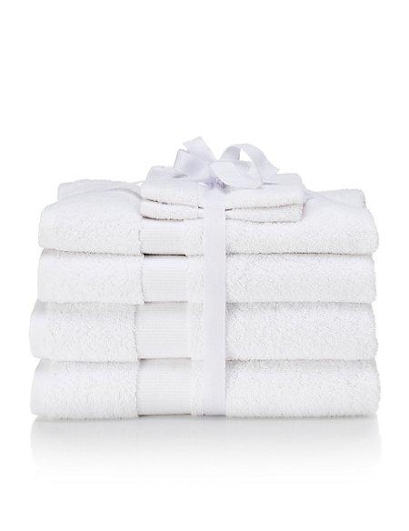 Pure Cotton 6 Piece Towel Bale