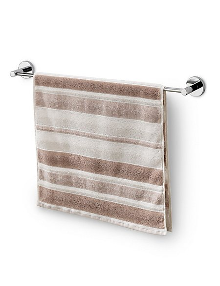Sculpted Striped Towel