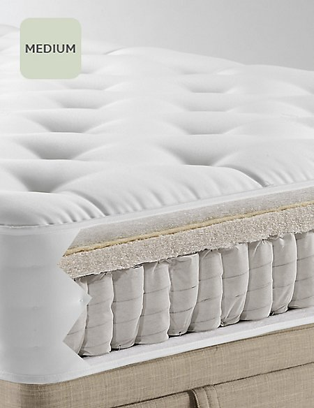 Natural 1250 Medium Mattress M Amp S