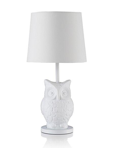 Boho owl table lamp ms boho owl table lamp aloadofball Choice Image