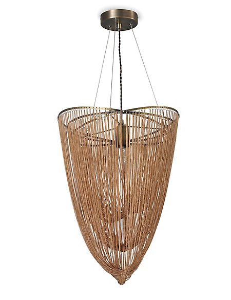 Draping Chain Chandelier