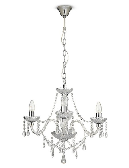 Romance clear 3 arm chandelier ms romance clear 3 arm chandelier mozeypictures Gallery