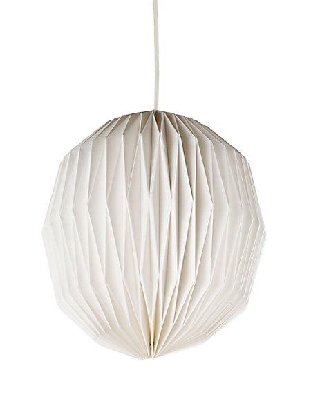 Folding round paper ceiling lamp shade ms folding round paper ceiling lamp shade aloadofball Image collections