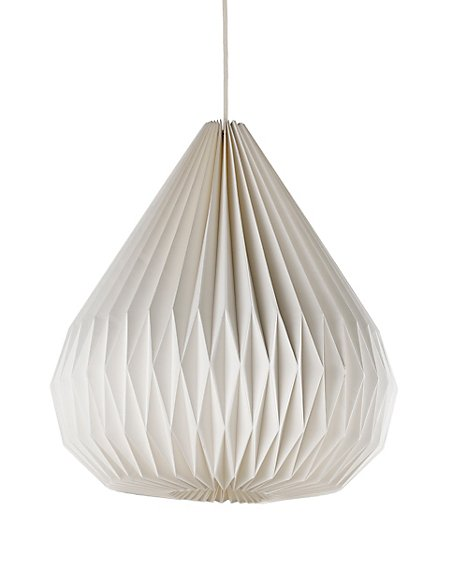 Folding droplet paper ceiling lamp shade ms folding droplet paper ceiling lamp shade mozeypictures Images