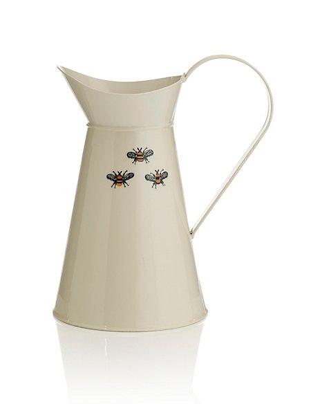 Large Bee Jug Vase Ms