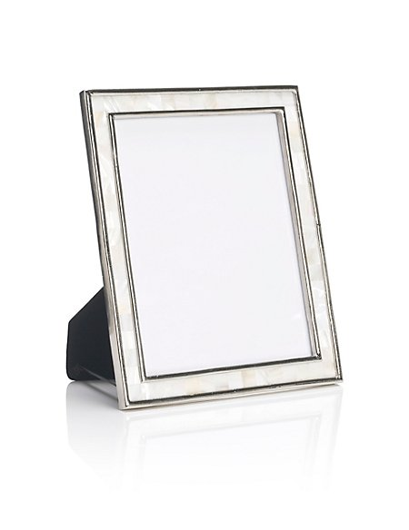 Mother of Pearl Photo Frame 20 x 25cm (8 x 10'')