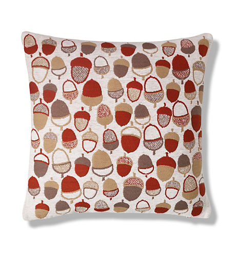 Acorns Print Cushion