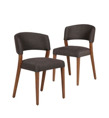 vermont walnut dining chairs m s. Black Bedroom Furniture Sets. Home Design Ideas