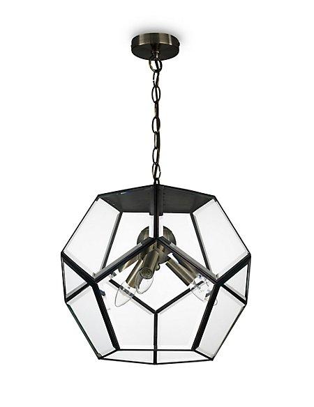 Large Hexagonal Ceiling Lantern