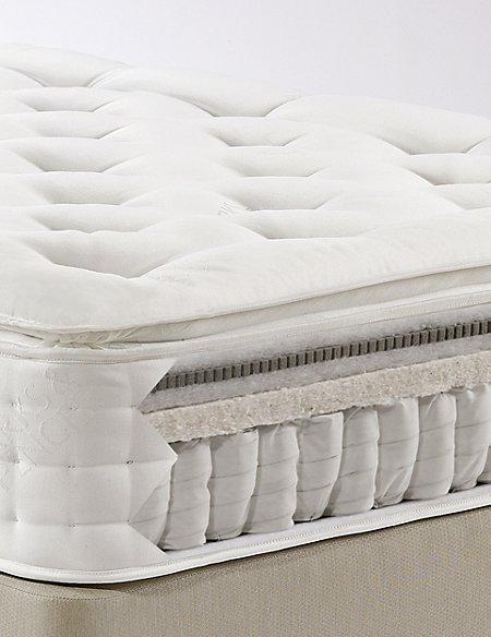 Latex Pillowtop 1500 Mattress - Medium Support