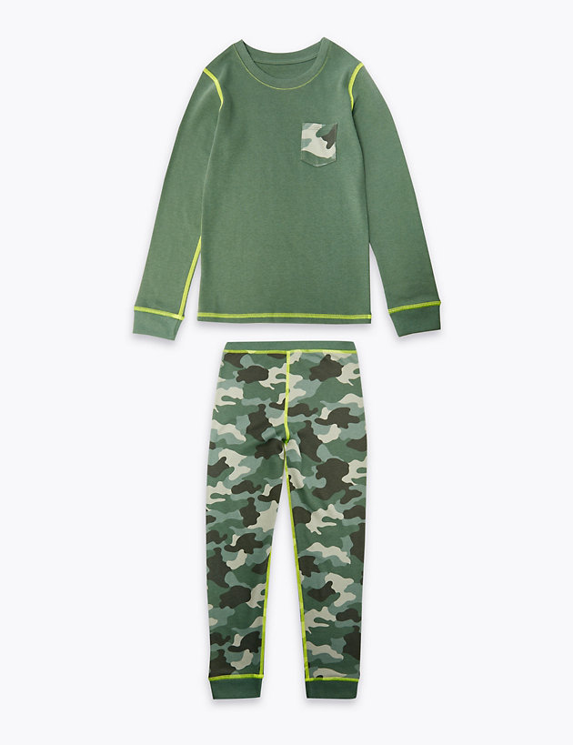 Camouflage Print Thermal Set (18 Months - 16 Years)