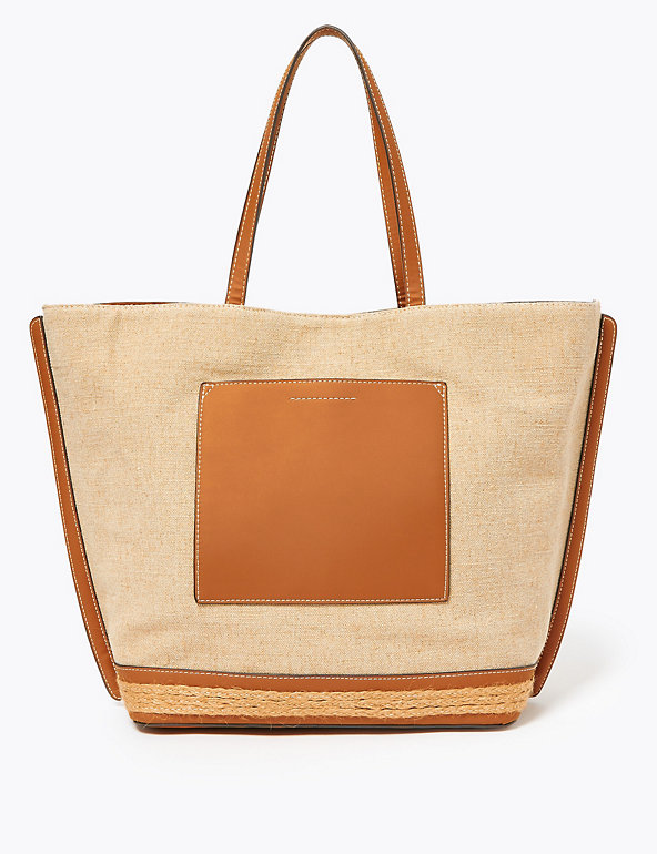 Canvas Shopper Bag Image 1 of 5