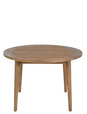 Capri Teak Table 4 Chairs