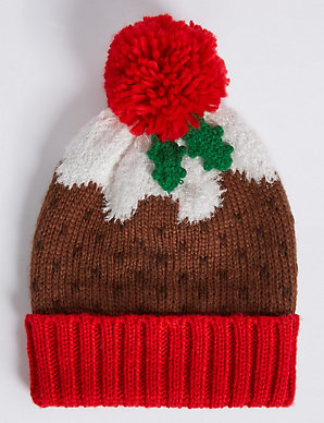 8a9abe52349cd Christmas Pudding Hat