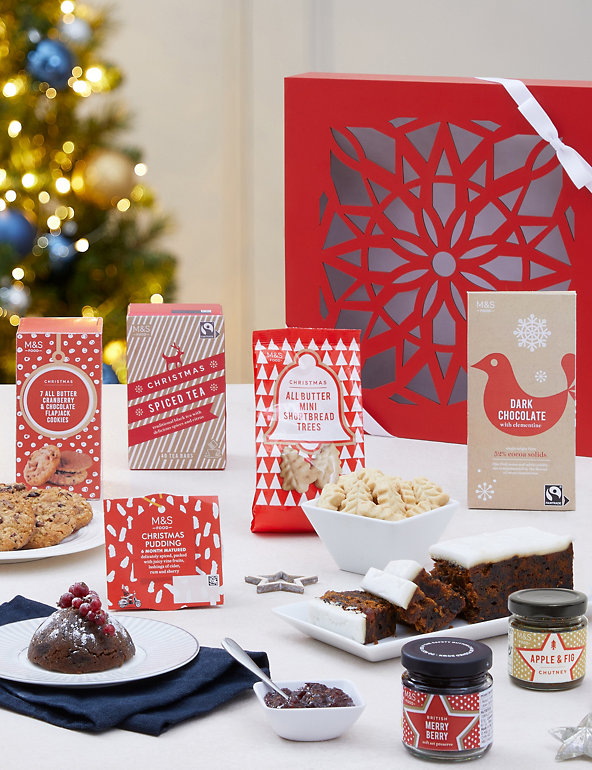 Classic Christmas Gift Box M S