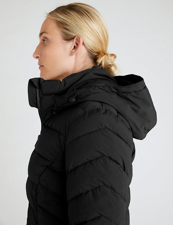 Comfort Stretch Padded Coat | GOODMOVE | M&S
