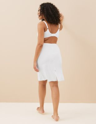 Ex Marks /& Spencer T332090 M/&S Collection White Waist Slip with Cool Comfort Technology RRP /£16
